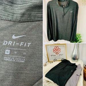 🌟🔥x2 Nike Dri-Fit long sleeve half zip bundle‼️